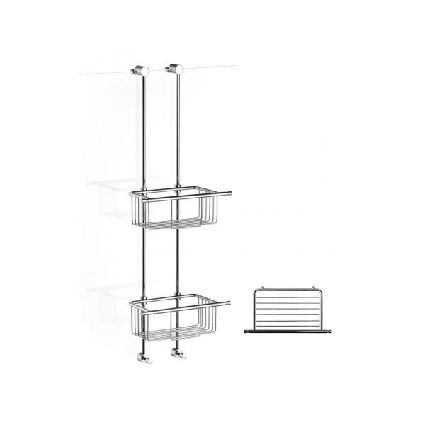 giese bodyguard carree mit 2 haken duschk rbe individuell h henverstellbar ebay. Black Bedroom Furniture Sets. Home Design Ideas