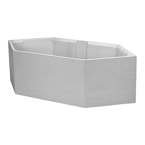 acrylwanne sechseckwanne badewanne hoesch procasa 190x90 setw107 ebay. Black Bedroom Furniture Sets. Home Design Ideas