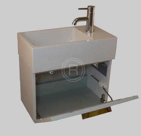 burgbad crono g ste bad waschtisch unterschrank secb050 mineralguss ebay. Black Bedroom Furniture Sets. Home Design Ideas