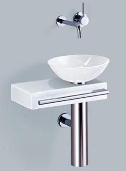alape waschtisch wp pi piccolo 5031000 g ste wc ebay. Black Bedroom Furniture Sets. Home Design Ideas