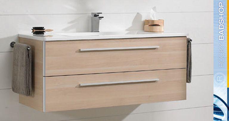 Pelipal badm bel caldos spiegelschrank waschtisch und for Waschtischunterschrank birke