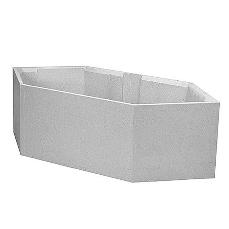 koralle sechseck badewannenset facette k6196 tr ger multiplex trio setw060 ebay. Black Bedroom Furniture Sets. Home Design Ideas