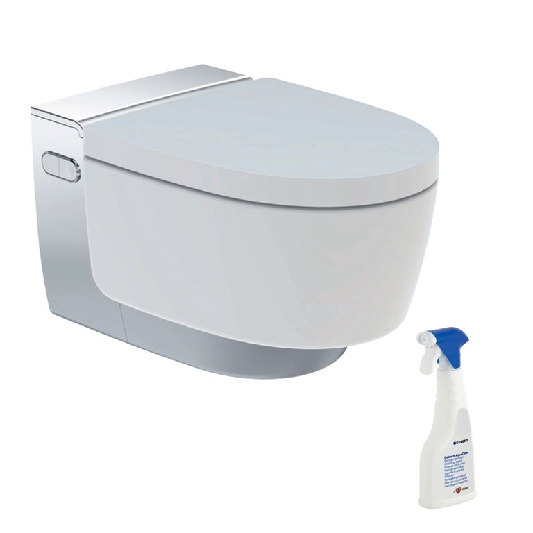 geberit aquaclean mera classic dusch wc komplettanlage weiss chrom 146200211 4025416317562 ebay. Black Bedroom Furniture Sets. Home Design Ideas