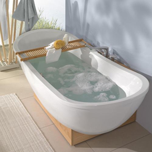villeroy boch badewanne my nature uba190nat9e0v 190x80 freistehend acryl weiss ebay. Black Bedroom Furniture Sets. Home Design Ideas