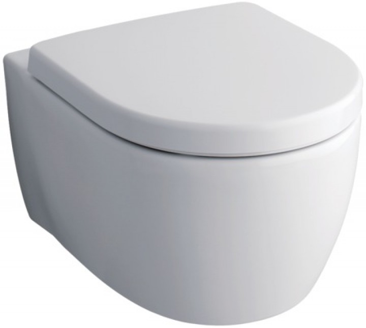 komplettset wand wc keramag icon sp lrandlos sitz zubeh r 204060000 ebay. Black Bedroom Furniture Sets. Home Design Ideas
