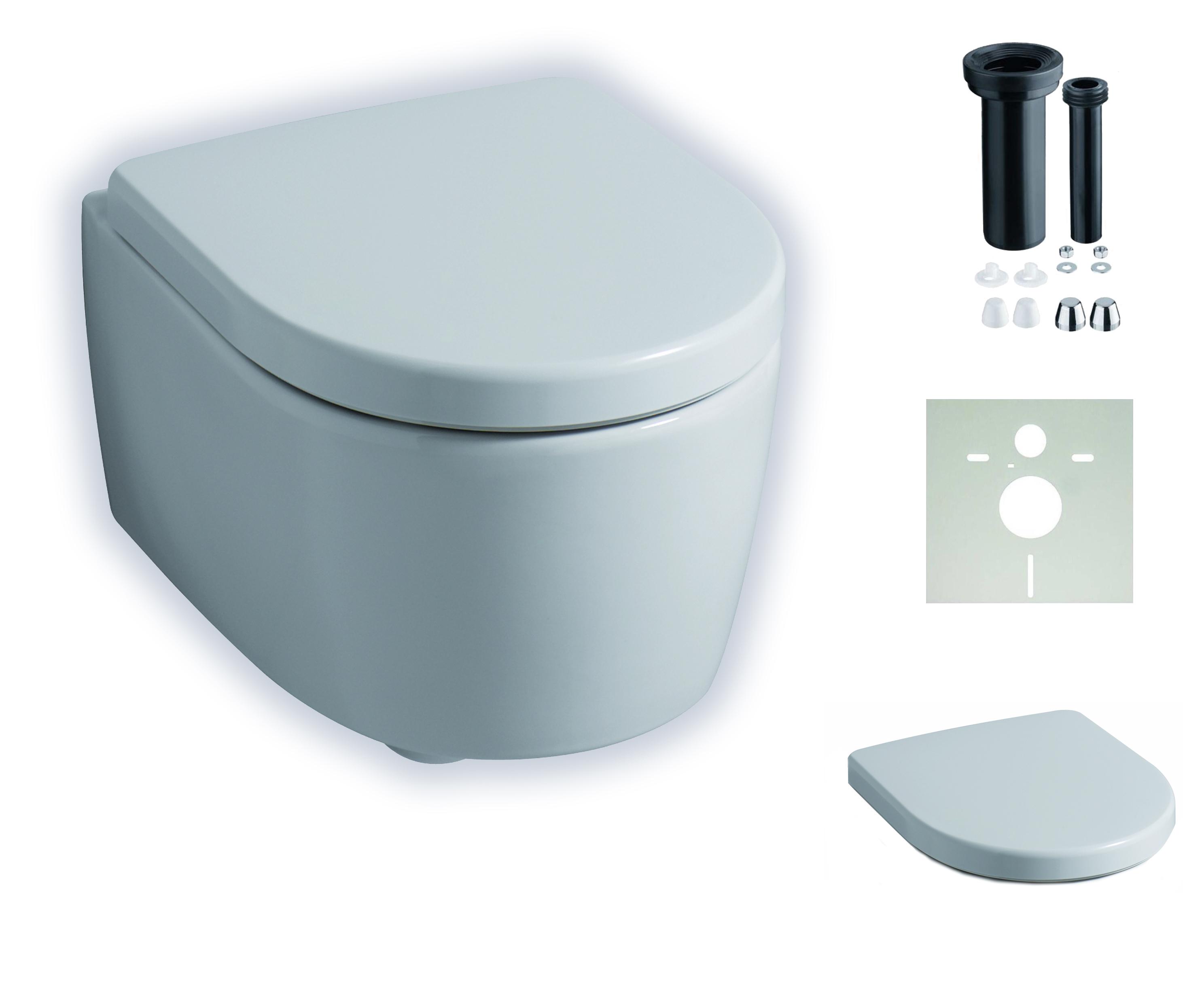 keramikset keramag icon xs sp lrandlos wand wc kera tec beschichtung 204070600 ebay. Black Bedroom Furniture Sets. Home Design Ideas