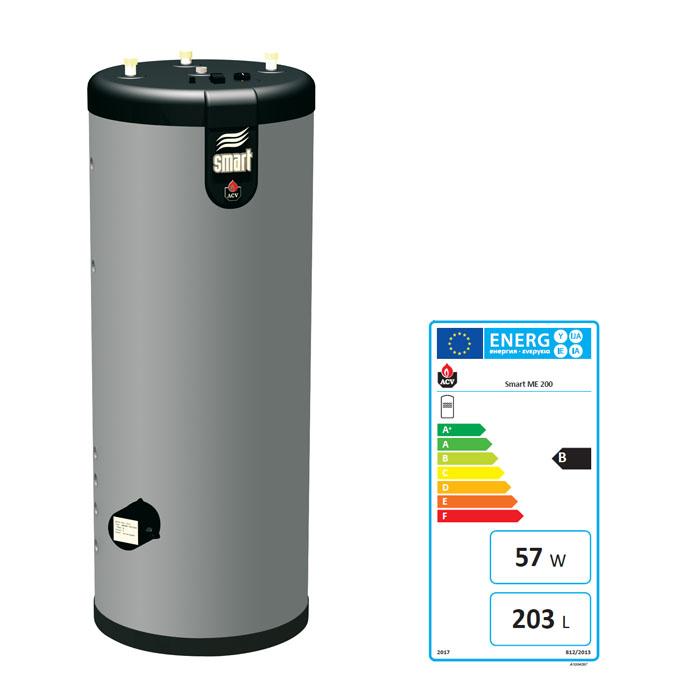 ACV WARMWASSERBEREITER SMART LINE MULTI ENERGY SL ME MIT ISO 200 300 ...