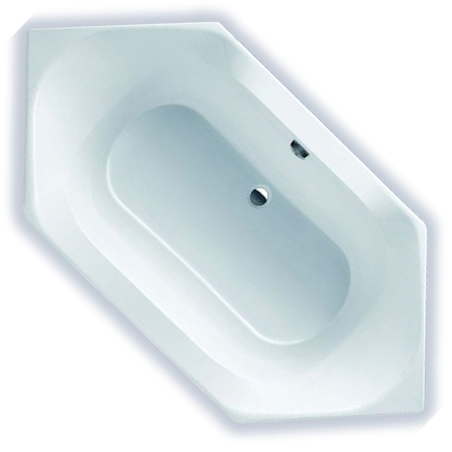badewanne sechseckwanne acryl hoesch spectra 180x80 tr ger ebay. Black Bedroom Furniture Sets. Home Design Ideas