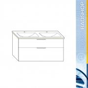 Mineralguss Waschtische inkl. Waschtischunterschrank