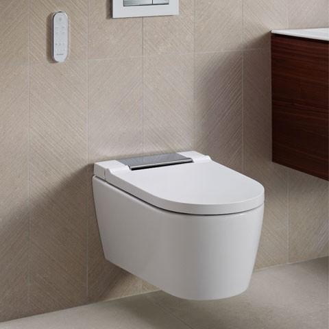 Geberit AquaClean Sela WC-Komplettanlage Wand-WC weiß-alpin