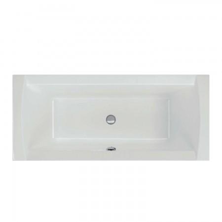 acryl badewanne crown 180 x 80 x 45cm weiss bodenl nge 115cm 204 liter rechteck badewannen. Black Bedroom Furniture Sets. Home Design Ideas