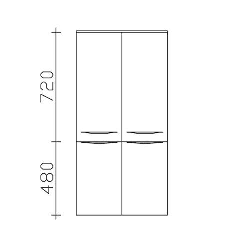 Pelipal Solitaire 6025 Midischrank (PEL6025-MS 60-01) PG2