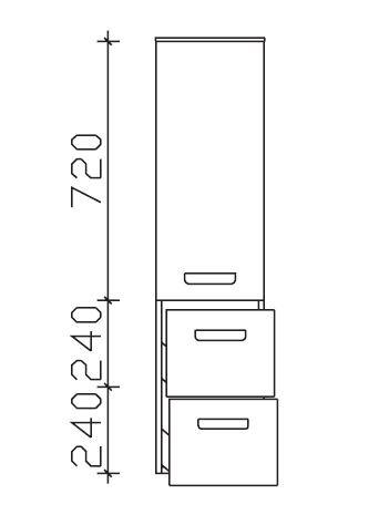 Pelipal Solitaire 6905 Midischrank