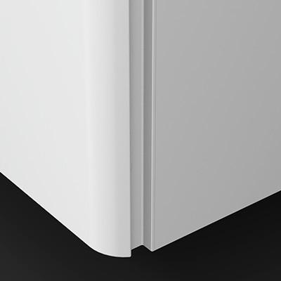 vertikale Griffleiste Weiß - G0161