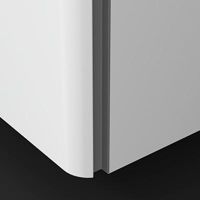 vertikale Griffleiste Dunkelgrau - G0162