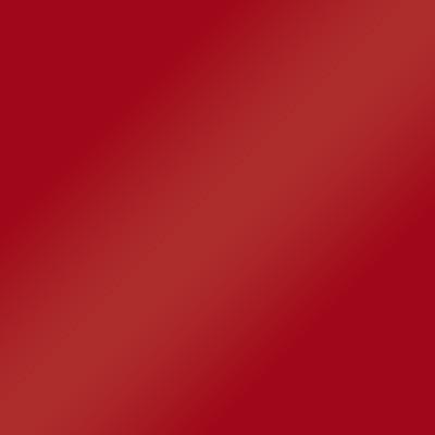 Hellrot Hochglanz Lack Rückwand: Weiß Matt mit Griffmulde - L16