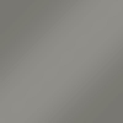 Grau Hochglanz Lack Rückwand: Weiß Matt mit Griffmulde - L28