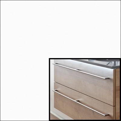 Weiß Hochglanz Select inkl. Stangengriff - F454