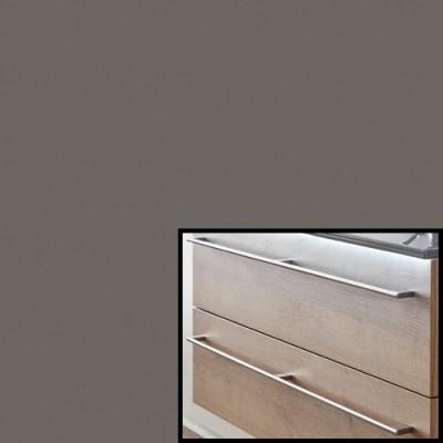 Quarzgrau Matt Select inkl. Stangengriff- F457