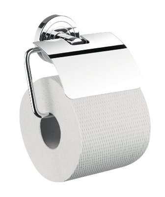 chrom 070000100 emco polo Papierhalter mit Bügel und Deckel