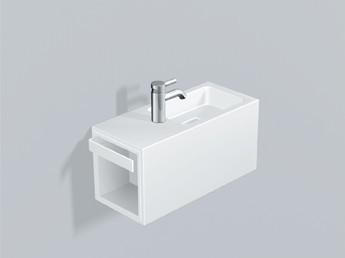 alape waschplatz xs2 5075800 wei. Black Bedroom Furniture Sets. Home Design Ideas