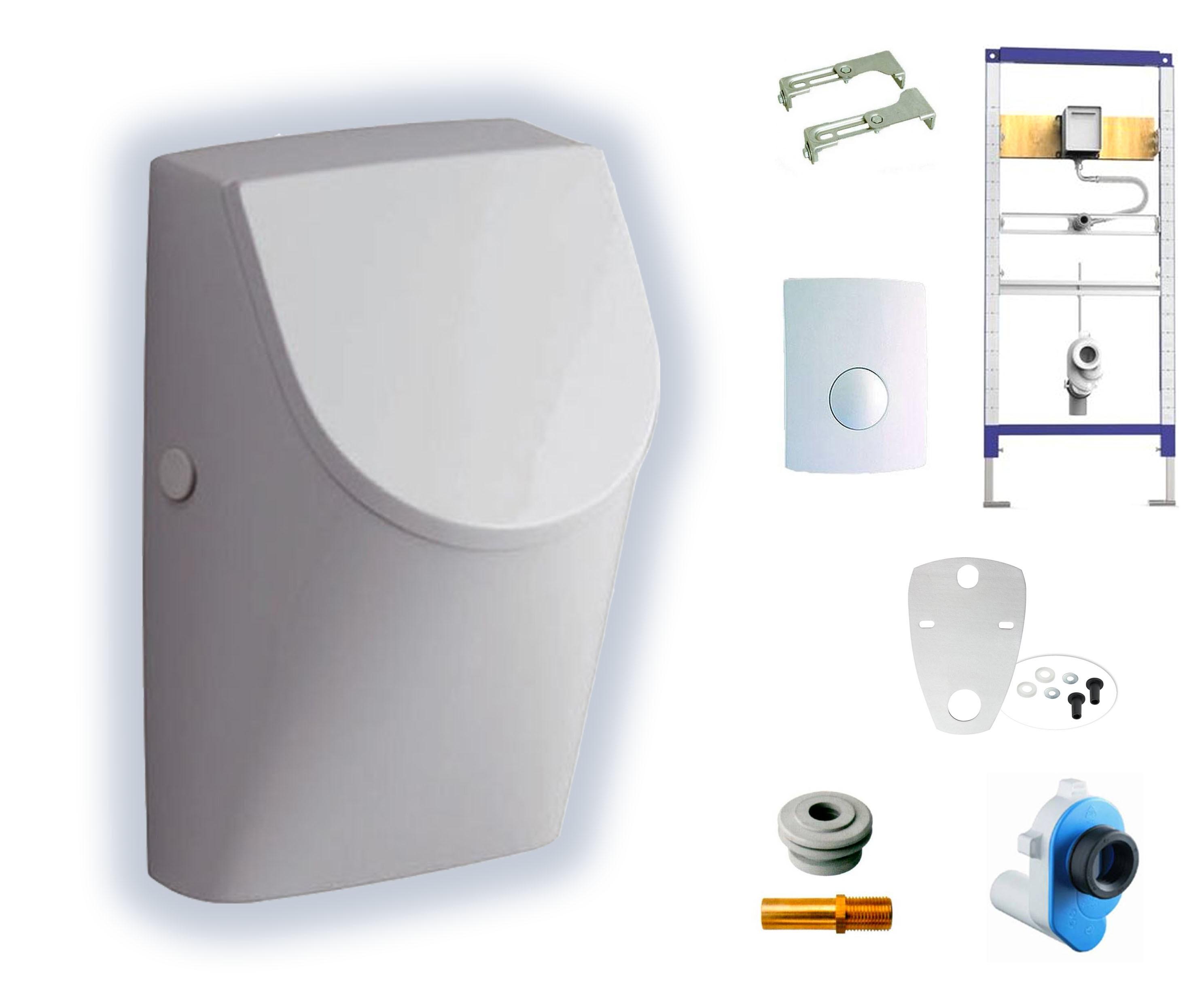 Keramag Renova Nr 1 Plan Urinal Set Mit Deckel