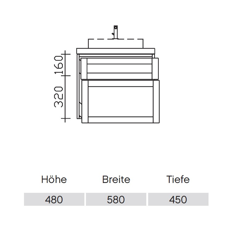 Pelipal Solitaire 9030 Waschtischunterschrank 410