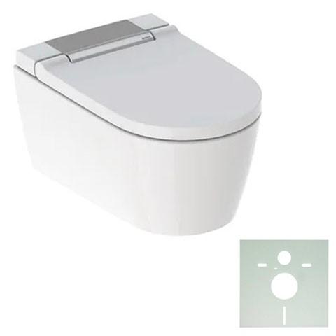 GE Geberit AquaClean Sela WC-Komplettanlage Wand-WC glanzchrom
