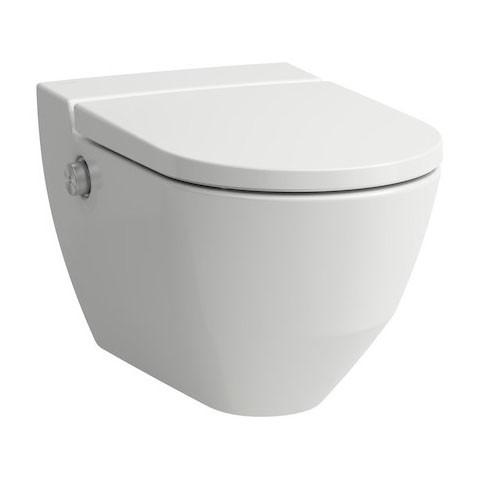 Laufen Wand-Tiefspül-Dusch-WC CLEANET NAVIA 580x370mm ...