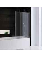 Favorit Nova Badewannenaufsatz, 1-teilig Version 80 - Echtglas klar hell (50)