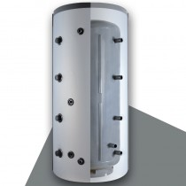 Austria Email Hygienespeicher KWS 500 W mit Wellrohr, ohne Wärmetauscher mit ECO SKIN Isolierung