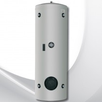 AUSTRIA EMAIL Wärmepumpen-Kältepufferspeicher WPPS 400L Stahlblechmantel silbergrau, H1834xØ670