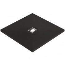 Bodenbündige, verfliesbare Duschtasse 900x900x40 mm (rollstuhlbefahrbar) Ablaufposition mittig, waagerecht / senkrecht