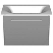 Burgbad Cala 2.0 Mineralguss-Waschtisch+Unterschrank 660 PG2