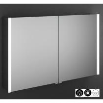 Burgbad Cube Spiegelschrank mit vertikaler LED-Beleuchtung 1000 (SPFW100)