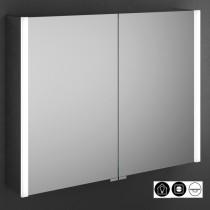 Burgbad Cube Spiegelschrank mit vertikaler LED-Beleuchtung 800 (SPFW080)53
