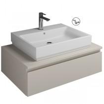 Burgbad Cube Waschtischunterschrank passend zu Grohe Cube(WWGN080)PG2
