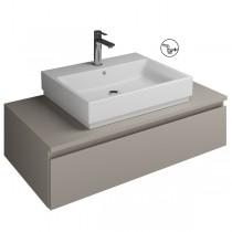 Burgbad Cube Waschtischunterschrank passend zu Grohe Cube(WWGN100)PG3