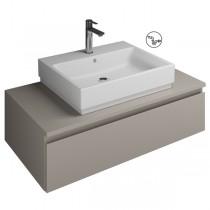 Burgbad Cube Waschtischunterschrank passend zu Grohe Cube(WWGO100)PG3