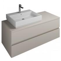 Burgbad Cube Waschtischunterschrank passend zu Grohe Cube(WWGP121)PG2