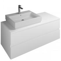 Burgbad Cube Waschtischunterschrank passend zu Grohe Cube(WWGQ121)PG2