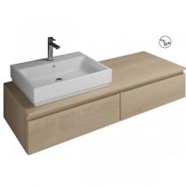 Burgbad Cube Waschtischunterschrank passend zu Grohe Cube(WWGR140)PG1