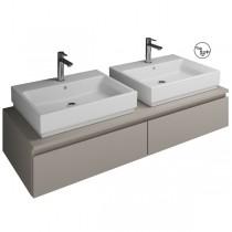 Burgbad Cube Waschtischunterschrank passend zu Grohe Cube(WWGS141)PG3