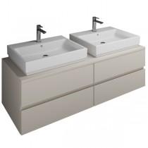 Burgbad Cube Waschtischunterschrank passend zu Grohe Cube(WWGT141)PG2