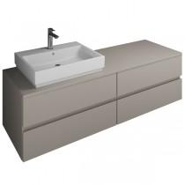 Burgbad Cube Waschtischunterschrank passend zu Grohe Cube(WWGT160)PG3