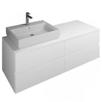 Burgbad Cube Waschtischunterschrank passend zu Grohe Cube(WWGU140)PG1