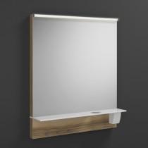 Burgbad Eqio Leuchtspiegel mit horizontaler LED-Beleuchtung inkl. Ablage 650 (SEZQ065)