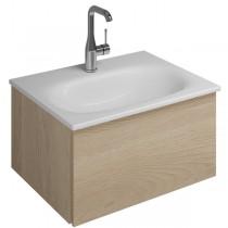 Burgbad Essence Waschtischunterschrank passend zu Keramik-Waschtisch Grohe Essence (WWIJ05T)PG1