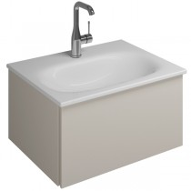 Burgbad Essence Waschtischunterschrank passend zu Keramik-Waschtisch Grohe Essence (WWIJ05T)PG2