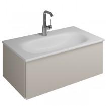 Burgbad Essence Waschtischunterschrank passend zu Keramik-Waschtisch Grohe Essence (WWIJ07T)PG2